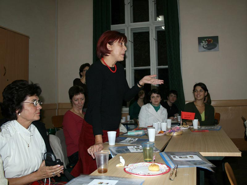 Teacher Tărcatu Doina, English language teachers, Brit Club
